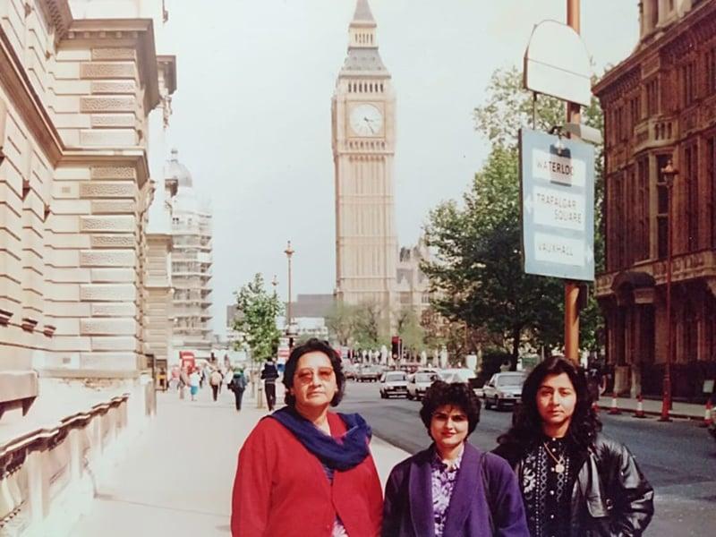 رافعہ راشد نے اپنی زندگی کے 5 برس لندن میں بھی گزارے