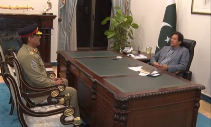 Gen Nadeem Raza on Wednesday took charge as new Chairman Joint Chiefs of Staff Committee (CJCSC) in a low-key event at Chaklala. — Screengrab/File
