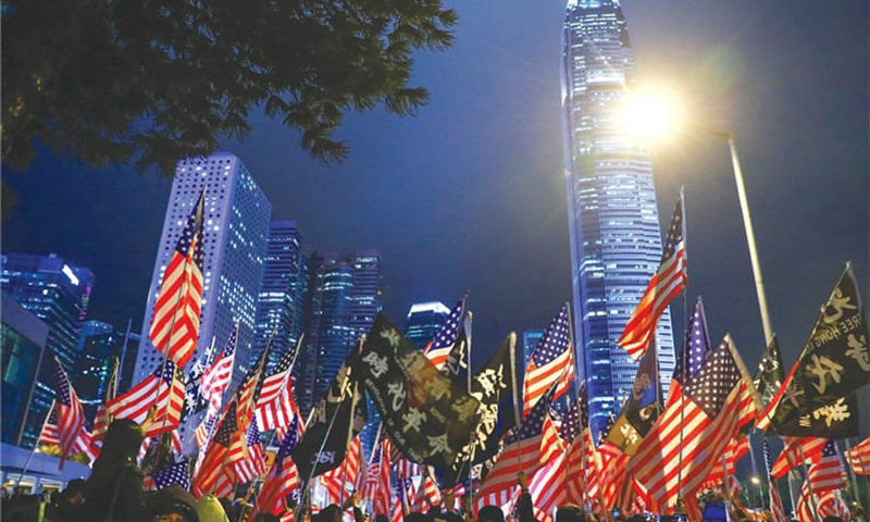 Furious China threatens retaliation over US law on Hong Kong