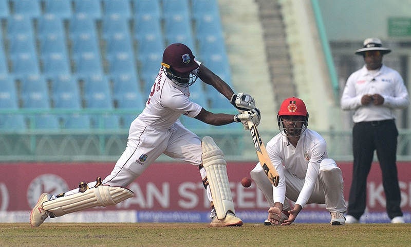 Ton-up Brooks, spinners put West Indies on winning path