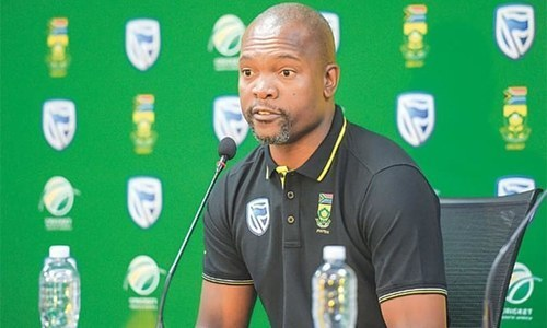 Nkwe to coach SA in England Tests
