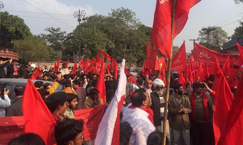 ملک بھر میں طلبہ یکجہتی مارچ