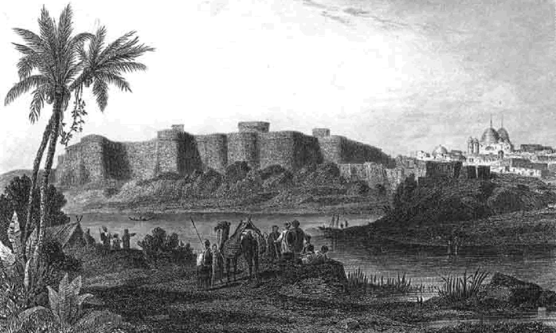 حیدرآباد کا پکا قلعہ