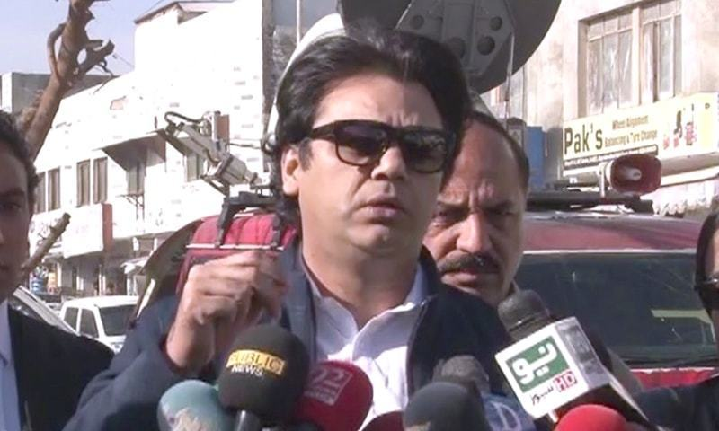 Usman Dar briefs KP CM about the initiative. — DawnNewsTV/File