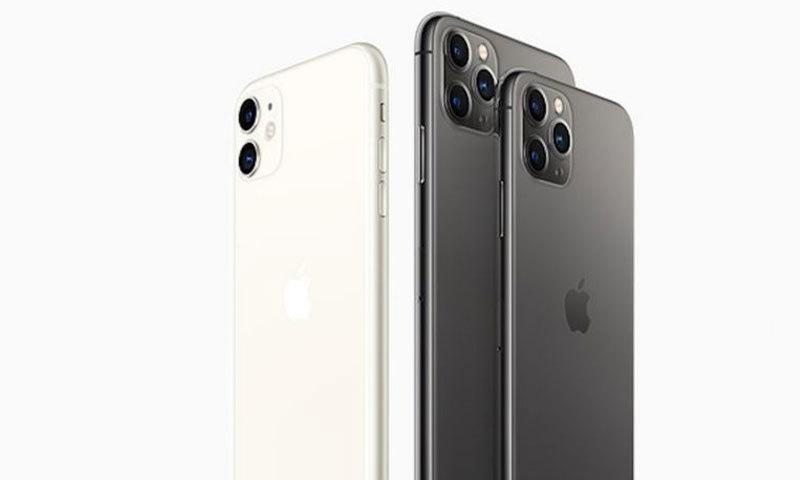 ایپل موبائل فروخت کے حوالے سے تیسرے نمبر پر رہی—فوٹو: ایپل