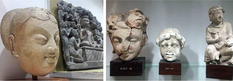 Rare artefacts on display at Islamabad Museum. — Photos by the writer