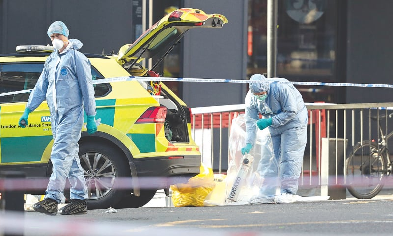 London attacker of Pakistani descent is terror convict: officials