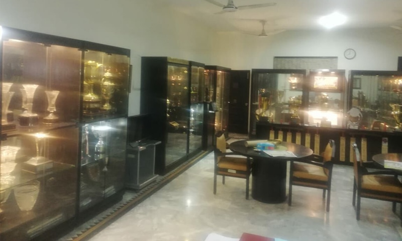 The Cricket Museum in one main room | Photos courtesy: Yahya Ghaznavi