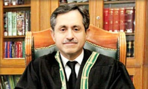 Chief Justice of the Balochistan High Court Jamal Khan Man­dokhel has said the judiciary's top priority is to provide speedy justice to the people. — Photo courtesy BHC website/File