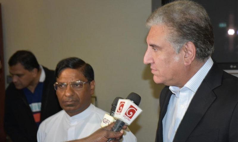 وزیر خارجہ 2 روزہ سرکاری دورے پر سری لنکا پہنچ گئے