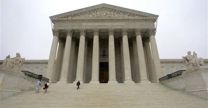 The United States Supreme Court in Washington —  Photo AP