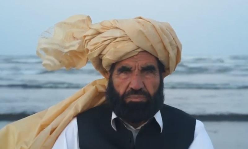 نقیب اللہ کے والد کینسر کے مرض میں مبتلا تھے—فائل فوٹو: جبران ناصر ٹوئٹر