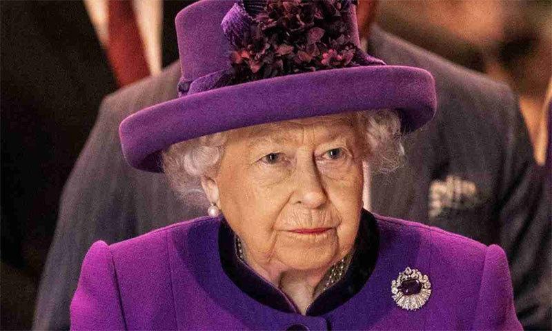 ملکہ برطانیہ — اے ایف پی فوٹو