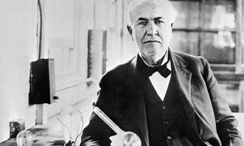 تھامس ایڈیسن نے انتہائی اہم ایجادات کیں—فائل فوٹو: اے ایف پی