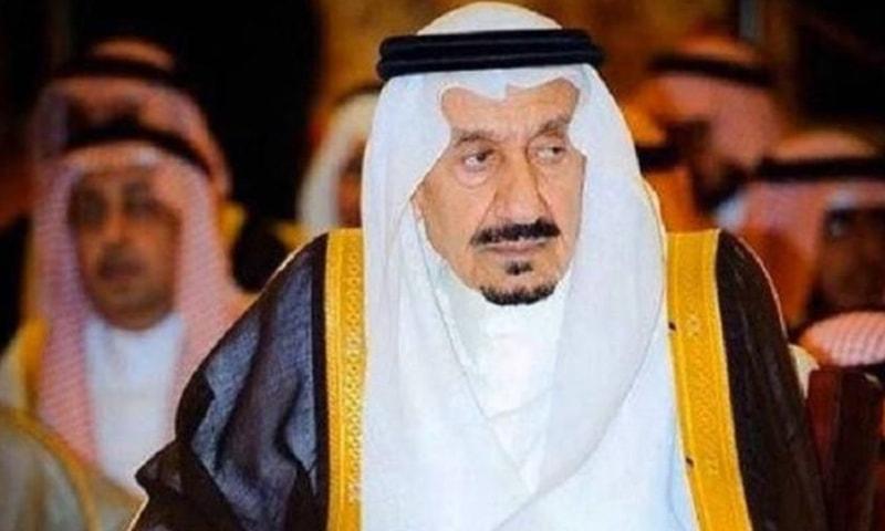 شہزادہ متعب بن عبدالعزیز کا 88 برس کی عمر میں انتقال ہوا —فوٹو: بشکریہ گلف نیوز