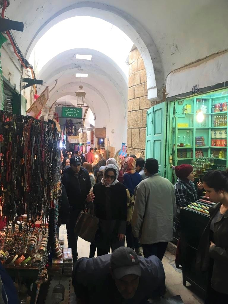 One of the many souqs in the Medina.
