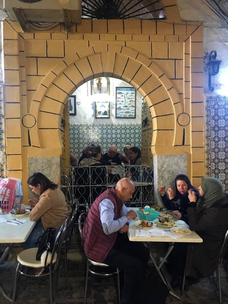 Big or small, the eateries inside the medina were full even in the middle of a weekday.
