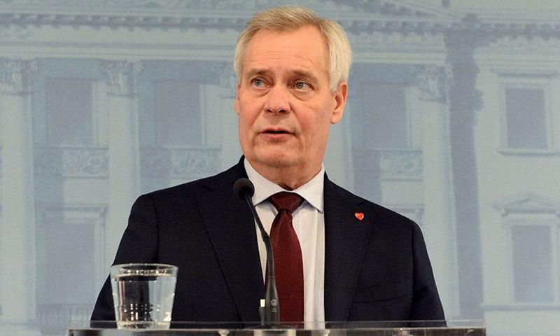 فن لینڈ کے وزیراعظم پر جھوٹ بولنے کا الزام عائد کیا گیا تھا—فوٹو:اے ایف پی