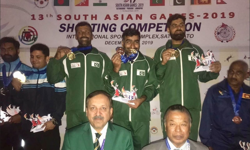 Pakistan win more golds in karate, shooting