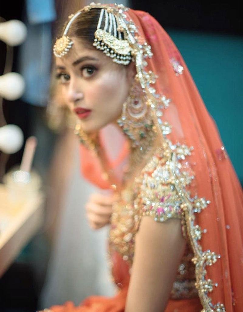 سجل علی نے شادی کی چہ مگوئیوں پر تاحال کوئی بیان نہیں دیا—فوٹو: انسٹاگرام