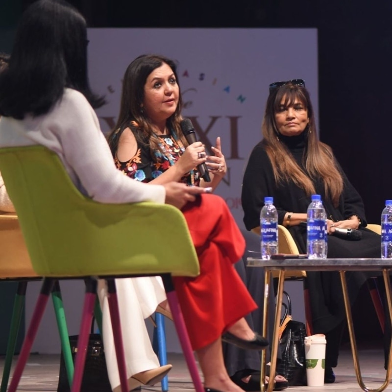 Seema Jaffer, CEO Bond Advertising, and Frieha Altaf, CEO Catwalk Event Management & Production