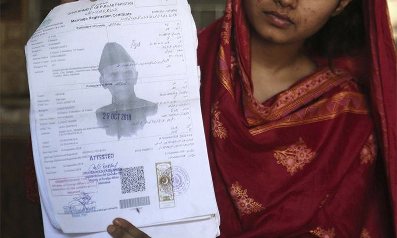 A report by AP says 629 Pakistani women have been sold to Chinese men. — AP/File