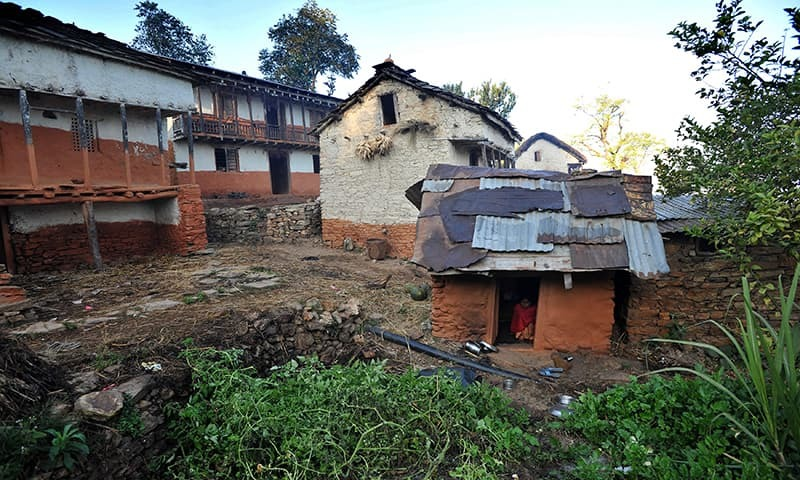 """Police in Nepal have arrested the brother-in-law of a woman who died after she was banished to a """"menstrual hut"""", the first such arrest in the Himalayan nation as it seeks to end the practice. — AFP/File"""