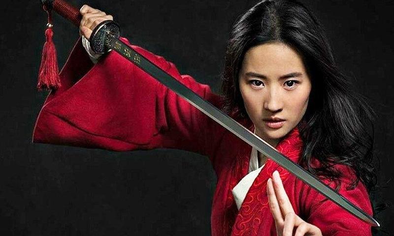 کمزور سے بہادر بننے والی خوبرو چینی لڑکی 'مولان' - Entertainment - Dawn News