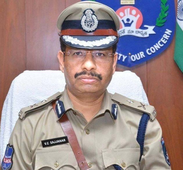 V.C. Sajjanar. — Photo: Facebook/Cyberabad Police
