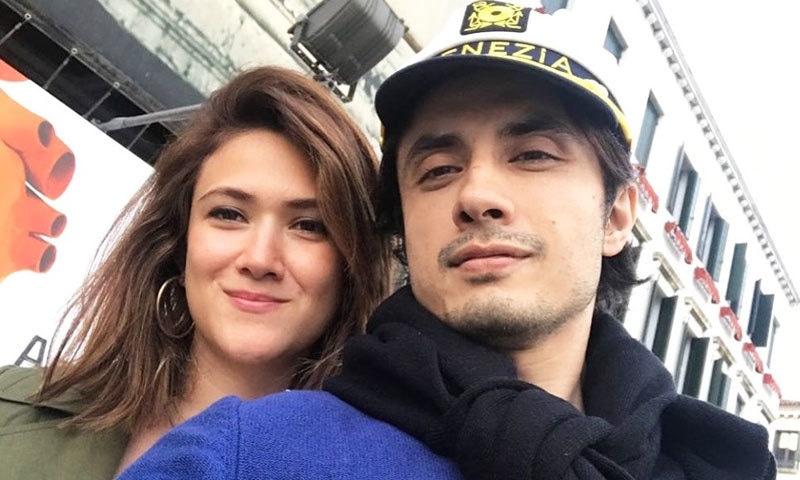 علی ظفر نے بتایا کہ ان کی اور اہلیہ کی محبت 20 سال قبل ہوئی—فوٹو: انسٹاگرام