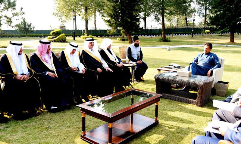 سعودی شوریٰ کونسل کا دورہ،مقبوضہ کشمیر کی صورتحال پر پاکستان کی حمایت کا اعادہ