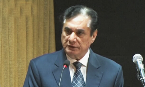 "National Accountability Bureau (NAB) chairman retired justice Javed Iqbal has said ""national interest should be given priority over personal interests in the state of Madina"". — DawnNewsTV"