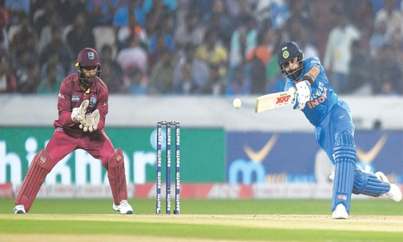 Kohli stars as India beat West Indies in opening T20
