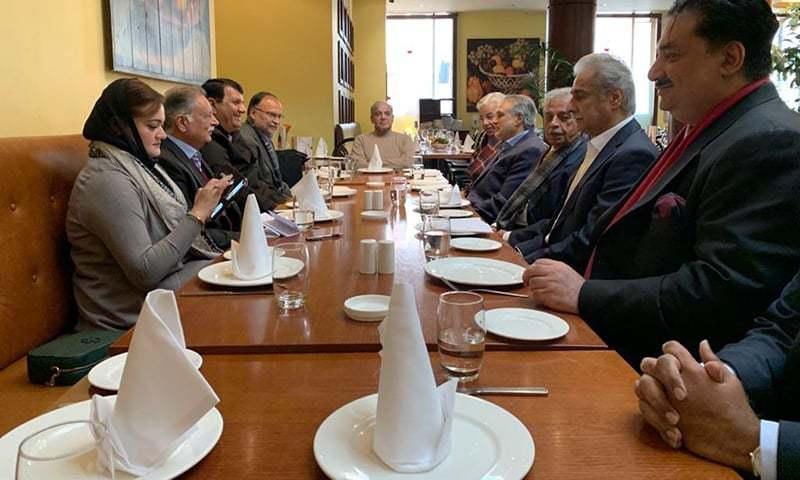 مسلم لیگ (ن) کا لندن میں شہباز شریف کی سربراہی میں مشاورتی اجلاس