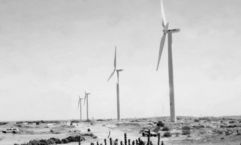 The Gharo-Jhimpir wind corridor in Sindh has been identified as the most lucrative site for wind power plants and has a gross power generation potential of 43,000MW.