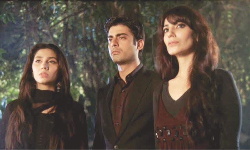 Mahira Khan, Fawad Khan and Naveen Waqar in Hum TV's Humsafar