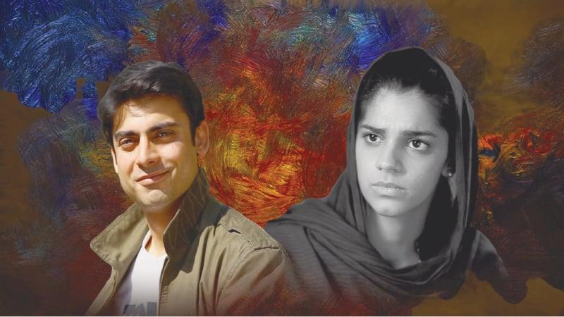 Fawad Khan and Sanam Saeed in Hum TV's Zindagi Gulzar Hai