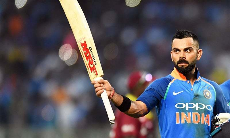 """""""It's about contributing to your team and making the team win,"""" says Indian skipper Virat Kohli. — AFP/File"""