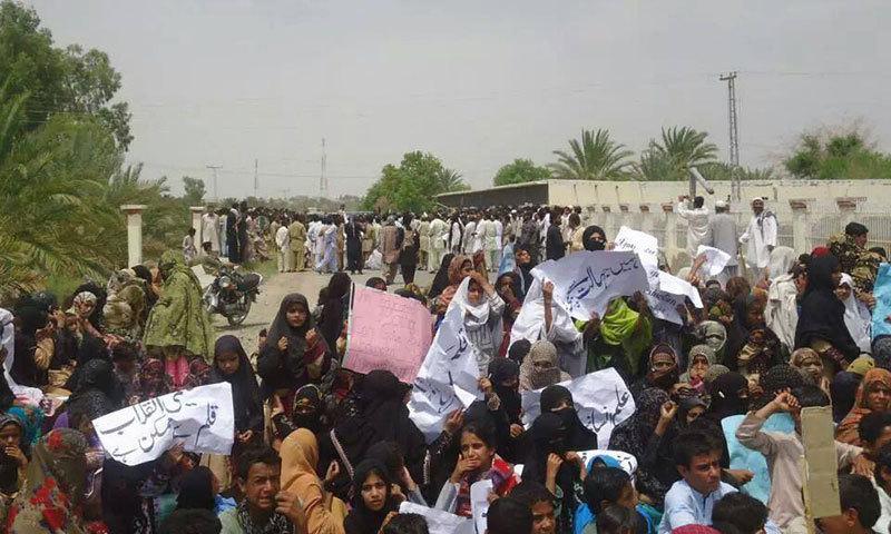 مقررین نے خواتین کی رہائی کا مطالبہ کیا —فائل فوٹو: حنا بلوچ