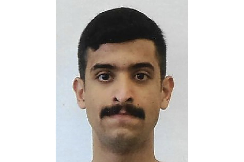 This undated photo provided by the FBI shows Mohammed Alshamrani, the Saudi student who opened fire inside a classroom at Naval Air Station Pensacola on Friday before one of the deputies killed him. ─ AP