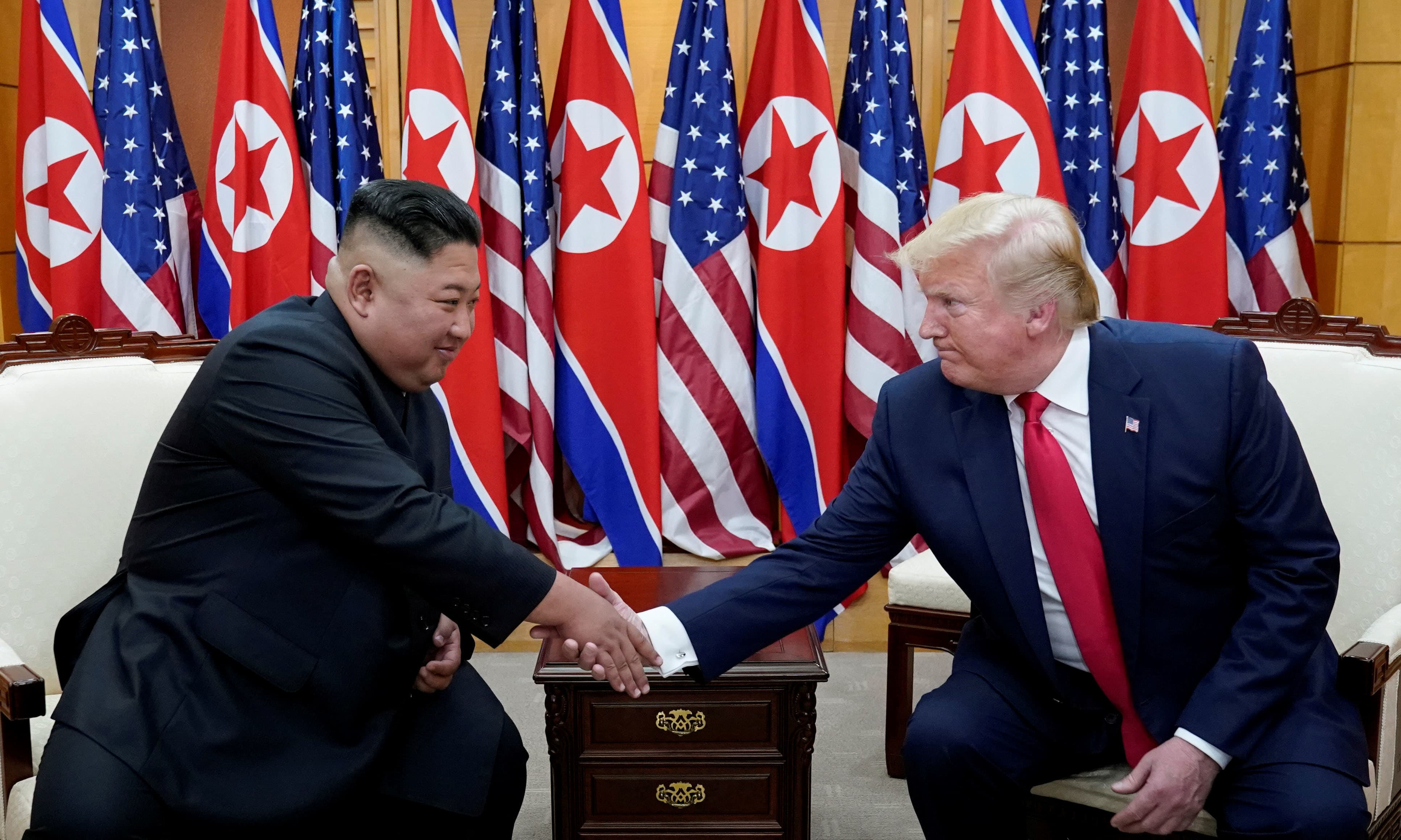 "United States President Donald Trump said on Sunday Kim risks losing ""everything"" if he resumes hostility and his country must denuclearise. — Reuters"