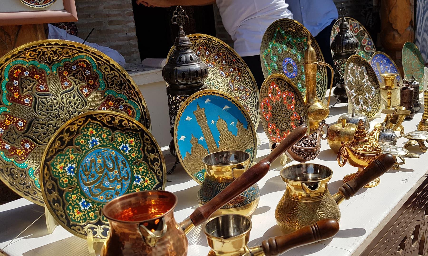 اس جگہ کو اب نہایت خوبصورتی سے اسلامی نوادرات سے متعلق میوزیم میں ڈھال دیا گیا ہے
