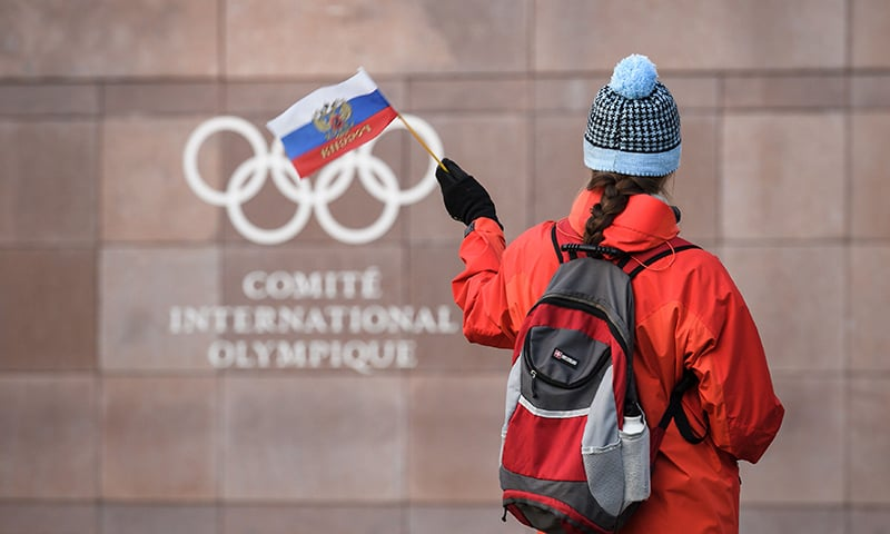 Russia banned from Olympic Games over doping scandal