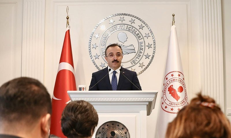 ترک وزیرداخلہ نے گزشتہ ماہ غیرملکی  گرفتار دہشت گردوں کو ڈی پورٹ کرنے کا اعلان کیا تھا—فائل/فوٹو:ترک وزارت داخلہ