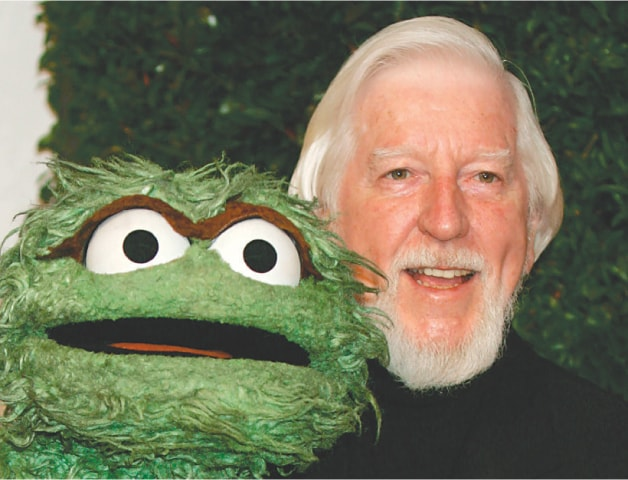 Los Angeles: This April 27, 2006, file photo shows Caroll Spinney arriving for an Emmy nominee party at the Hollywood Roosevelt Hotel.—AP