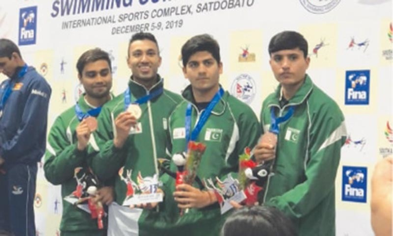 Pakistan's weightlifters, martial artists bring in more golds at SA Games