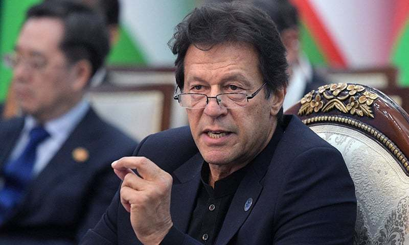 """In his message on global Human Rights Day, Prime Minister Imran Khan appealed to the international community to act against the """"illegal annexation"""" of occupied Kashmir by the Indian government. — AFP/File"""