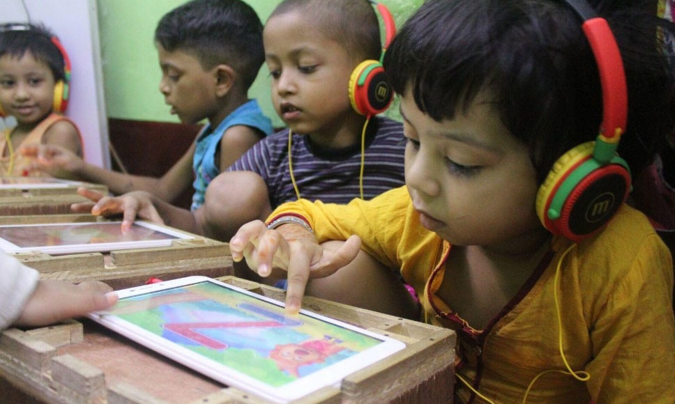 The Teach the World Foundation, led by Shafiq Khan and Imran Sayeed, is working in multiple countries around the world to introduce effective models for literacy and learning using digital technologies. — Photo Courtesy Techjuice