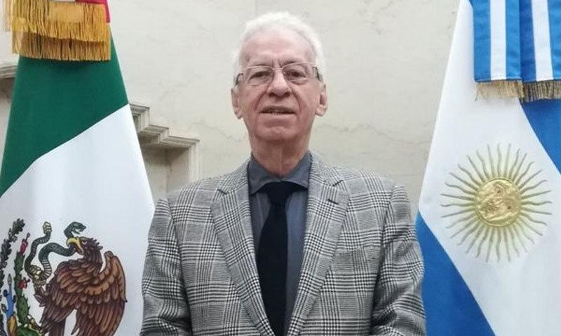 آسکر ریکارڈو والیرو ریسیو بیسرا ڈیڑھ سال سے ارجنٹائن میں تعینات تھے—فوٹو: بی بی سی میکسیکو