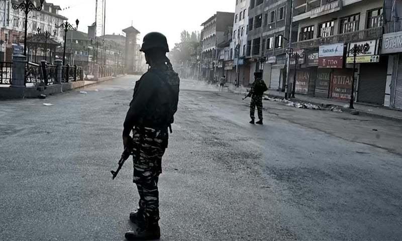 انسانی حقوق کے عالمی دن پر کشمیر میں یوم سیاہ منایا گیا—فائل/فوٹو:اے ایف پی